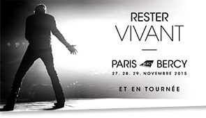 Johnny Hallyday en concerts à Paris Bercy en novembre 2015