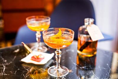 Cocktails en série limitée au Bar du Prince de Galles