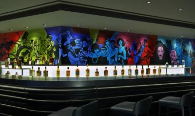 Bar Brûlé : le nouveau bar du W Paris-Opéra