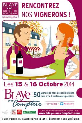 Blaye au Comptoir Paris 2014 : rencontrez les vignerons