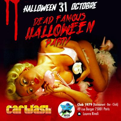Halloween 2014 : Vendredi XXXI Octobre au Club 79