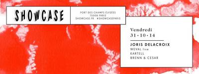 Joris Delacroix au Showcase