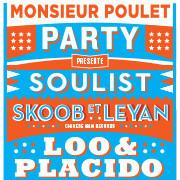 Mr Poulet Party à La Bellevilloise avec Skoob Et Leyan