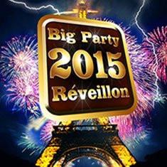 Réveillon du nouvel an 2015 : BIG Party au Back Up