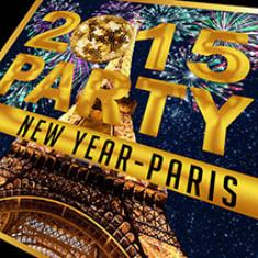 Réveillon du nouvel an 2015 : New-Year Party au Blok Paris