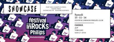 Festival les inRocKs Philips Club au Showcase avec Cassius et dOP