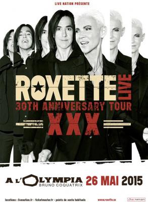 Roxette en concert à l'Olympia de Paris en 2015