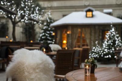 Terrasse d'hiver 2014-2015 du Park Hyatt Paris-Vendôme