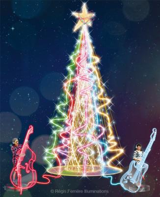 Irma en concert gratuit au Forum des Halles pour le Noël musical 2014