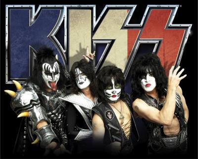 Kiss en concert au Zénith de Paris en juin 2015