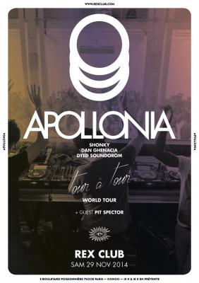 "Apollonia ""Tour à Tour"" au Rex Club"