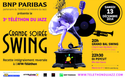 Grand Bal Swing 2014 à la Mairie du 5e arrondissement : gagnez vos places !