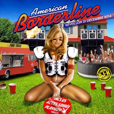 Réveillon du nouvel an 2015 : American Borderline à l'île du Chalet de la Porte Jaune