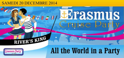 Erasmus Cruise Party @Péniche Kennedy River's King