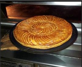 Galettes des rois 2015 à la Boulangerie Louvard