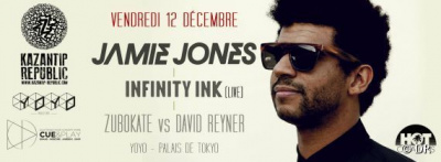 James Jones et Infinity Ink au Yoyo