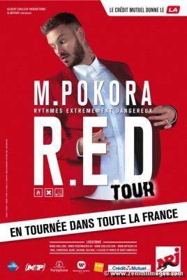 M. Pokora en concert à Paris Bercy en décembre 2015