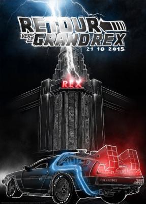 Retour vers le Grand Rex : les 30 ans de retour vers le futur en 2015 à Paris