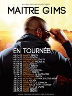 Maître Gims en concert à Paris Bercy en décembre 2015