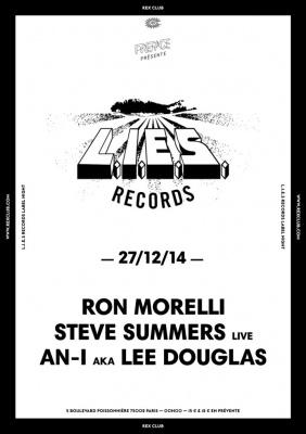 Lies Records Night au Rex Club avec Steve Summers
