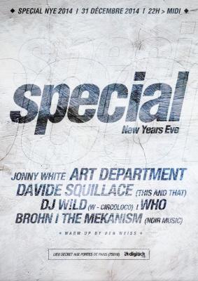 Le réveillon électro 2015 du nouveau label « Special »