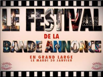 Festival de la bande annonce 2015 au Grand Rex de Paris