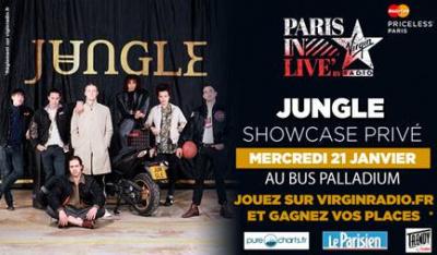 Jungle en showcase privé Virgin Radio au Bus Palladium