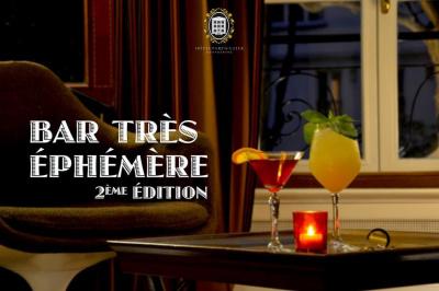 Le Bar Très Ephémère fait son retour à l'Hôtel Particulier Montmartre