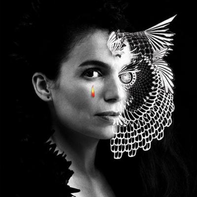 Yael Naim en concert au Cirque d'Hiver de Paris en mai 2015
