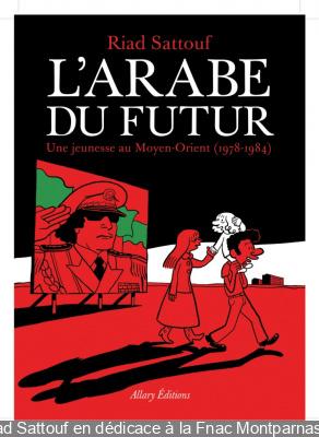 Riad Sattouf en dédicace à la Fnac Montparnasse