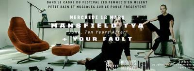 "Mansfield TYA ""June, 10 years After"" en concert à l'Archipel"