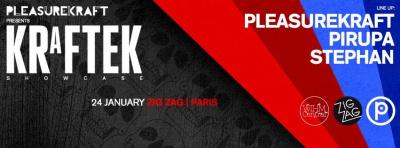 Kraftek Tour au Zig Zag Club