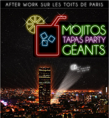 After work magique sur les toits de Paris au Tout Le Monde En Parle