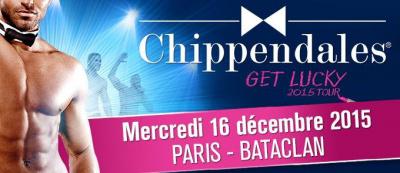 Les Chippendales : Get Lucky Tour 2015 au Bataclan de Paris