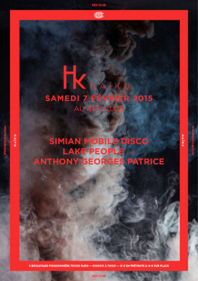 Haïku au Rex Club avec Simian Mobile Disco