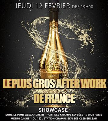 Le plus Gros Afterwork de France au Showcase