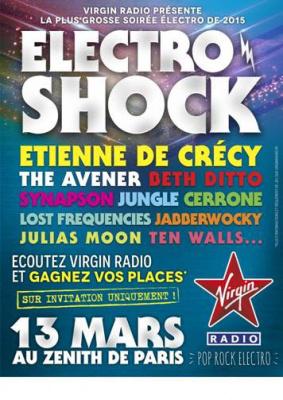 Electro Shock au Zénith de Paris : gagne ta place !