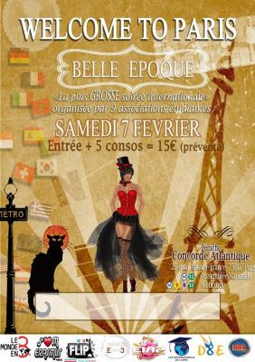 Welcome To Paris... Spéciale Belle Epoque à La Péniche Concorde Atlantique
