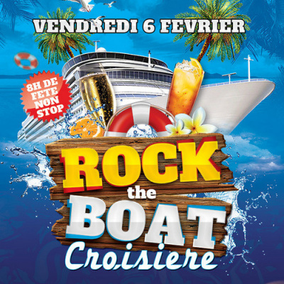 Soirée Rock The Boat au Bateau River's King