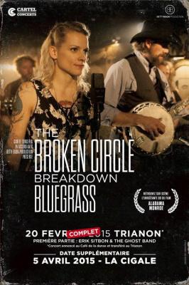 The Broken Circle Breakdown Bluegrass Band en concert à La Cigale