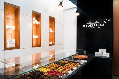 Mesdemoiselles Madeleines à Paris : la boutique 100% Madeleine