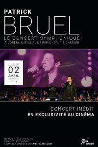 Patrick Bruel en concert Symphonique : retransmission au cinéma le 2 avril 2015