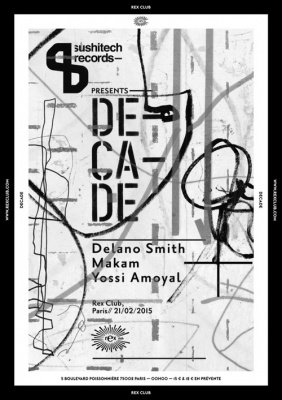 Sushitech Presents Decade au Rex Club
