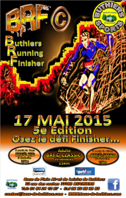 Buthiers Running Finisher 2015