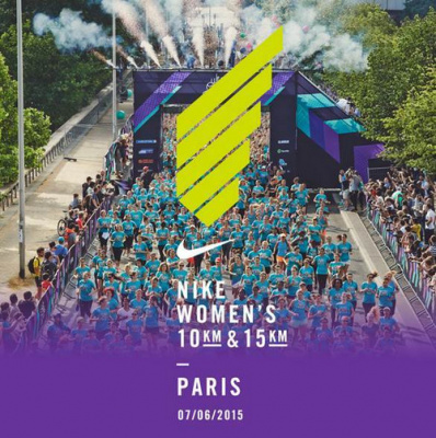 Course Nike Women's Paris 2015