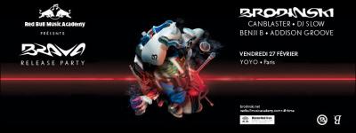 Brava : Brodinski Album Release Party au Yoyo