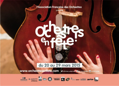 Orchestres en fête 2015 en île de France