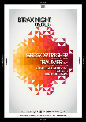 BTrax au Rex Club avec Camille Rodriguez