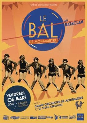 Le Bal de Montmartre du 6 mars 2015 au Bataclan