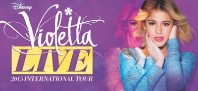 Violetta Live : nouveaux concerts au Zénith de Paris en septembre 2015